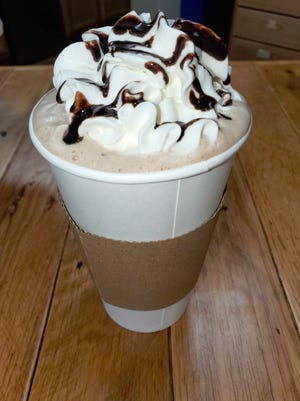 Pictured is a mocha latte from Perfect Blend Cafe, which was voted the best place to get a cup of coffee in Davidson County by Dispatch readers in a social media poll.