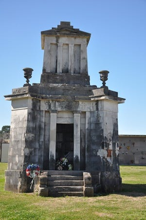 The Save the Tombs cemetery tour will be in Donaldsonville.