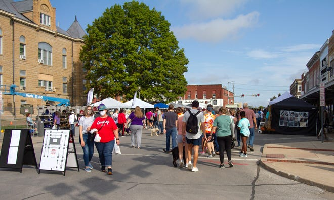 Photos from the 2021 Red Barn Arts & Crafts Festival, held in Kirksville on Saturday, Oct. 2.