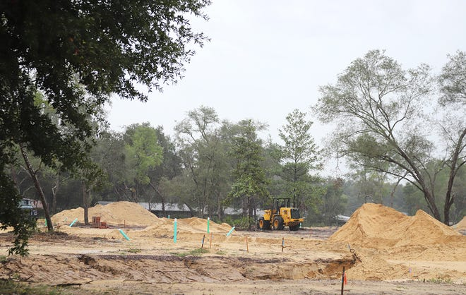 This property off John Sims Parkway in Niceville is slated to be the home of a new Aldi grocery store.