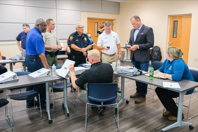 Members of the county's Litter Task Force gathered for the first meeting on Monday, Sept. 27.