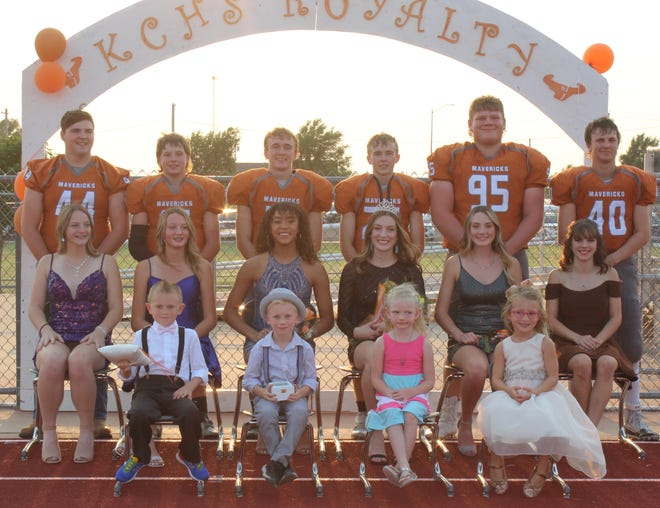 Kiowa County High School crowned King Connor Pore and Queen Addison Scherer at their 2021 Homecoming festivities on September 10, 2021.