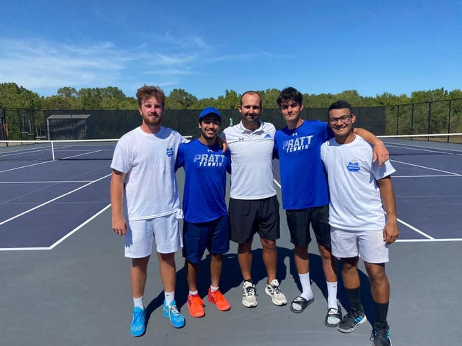Members of the 2021 Pratt Community College men's tennis team will be on hand for the October 9 PCC Hall of Fame tennis dedication.