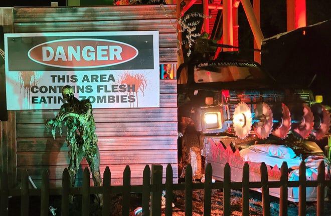 Fright Fest is back at Six Flags New England, Agawam, Massachusetts.