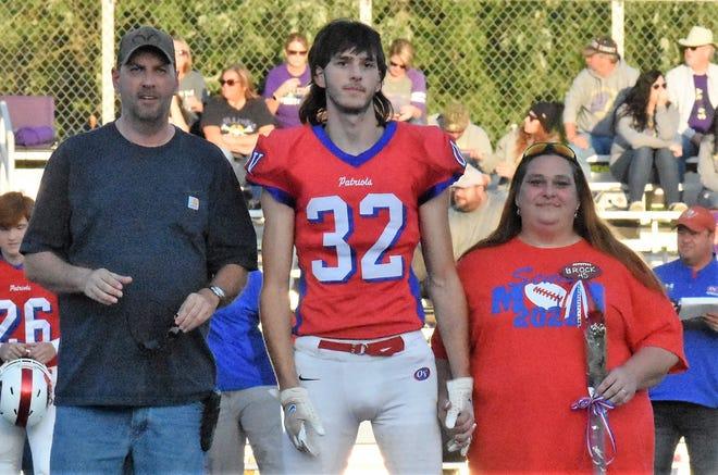 Senior Riley Brock is the son of Jennifer Brock.