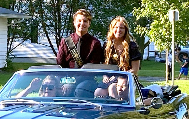 A Homecoming parade was held Friday in Sturgis and featured members of the court.