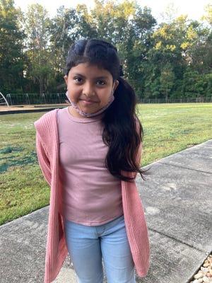 Eloisa Vasquez Mejia of Supply Elementary School is Brunswick's County Student of the Week.