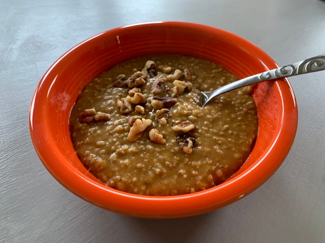 The pumpkin spice trend can get a little wacky sometimes, but classic oatmeal lends itself well to the gourd and its warm spices. Courtesy photo