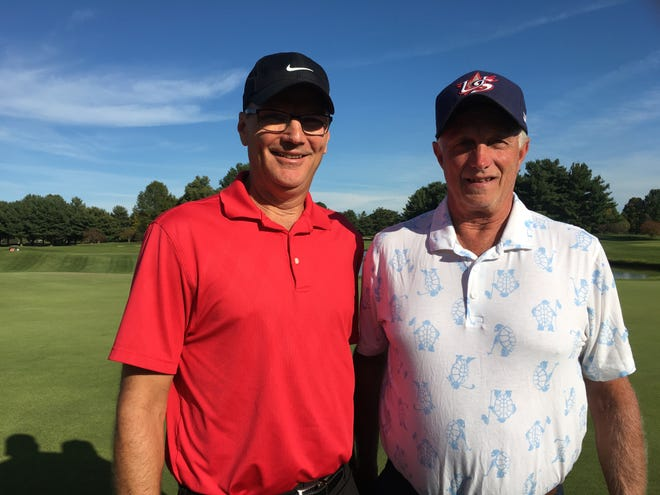 The team of Doug Rockich and Bruce Dean posted an outstanding 12 under par to win by two shots.