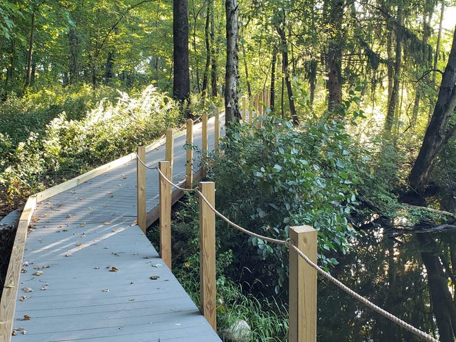 The Westborough Community Land Trust will host its Gilmore Pond All-Person's Trail grand opening at 1 p.m. Oct. 24.