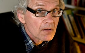 Swedish artist Lars Vilks