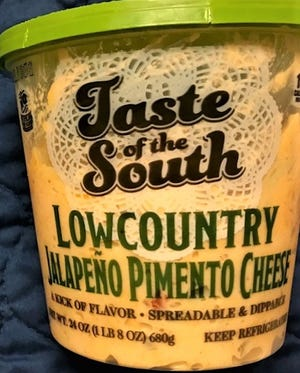 DiscoverFresh Foods (formerly Duke Brands)Taste of the South Jalapeno Pimento Cheese can be found at Costco