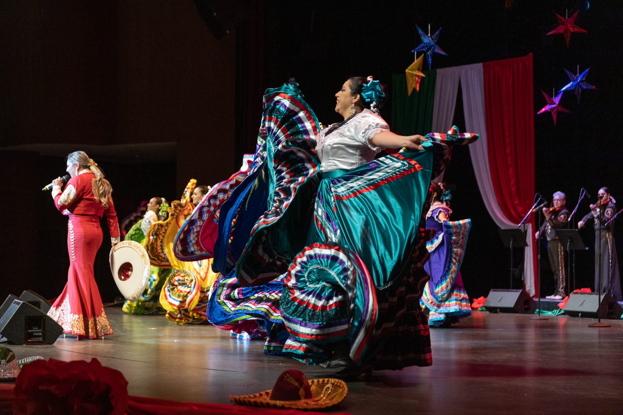 The 22nd Annual Mariachi & Folklórico Festival held at the Chandler Center for the Arts featured a range of performances that represented different regions in México.