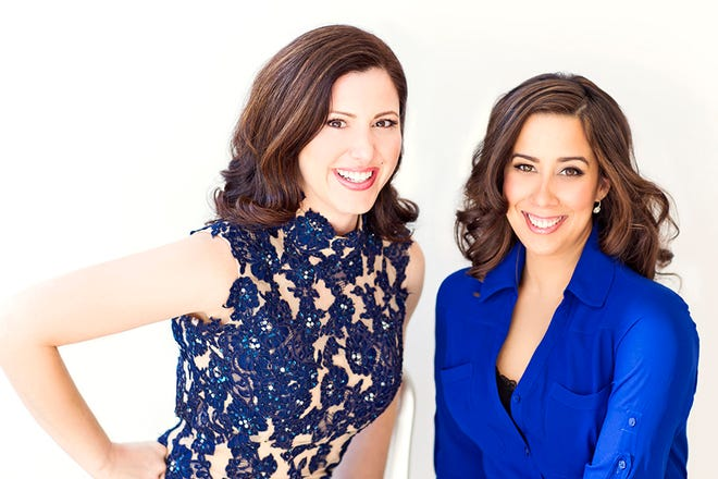 """""""Sing for Hope"""" founders Camille Zamora and Monica Yunus."""