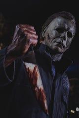 "Michael Myers returns again in ""Halloween Kills."""