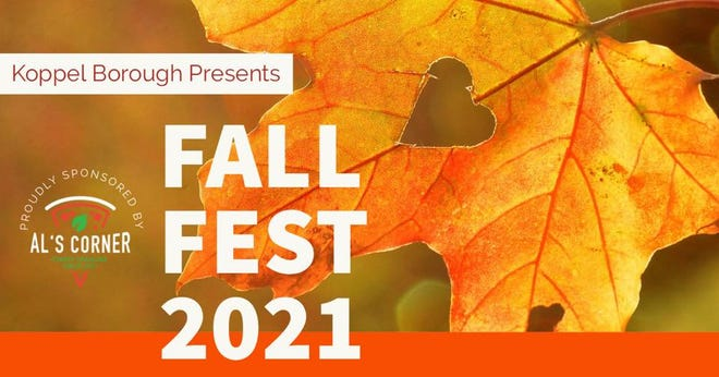 The annual Koppel Fall Fest will take place at 1 p.m. Oct. 23.