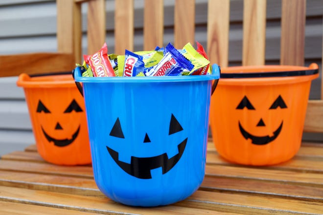 Parents of children with autism are adapting the blue pumpkin bucket to help communities quickly identify their child's social challenges. Parents have shown mixed support for the practice across social media sites.