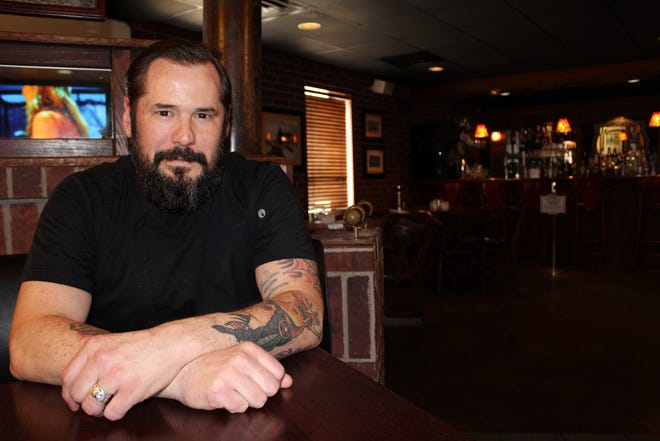 Jordan Keen is the new executive chef at Sterling's Grille.