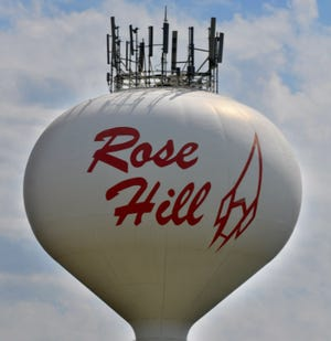 Rose Hill water tower