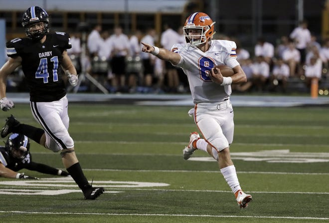 Despite an 0-7 start by the Orange football team, senior quarterback Jake Werling remains a positive influence and has rushed fora team-high 606 yards and eight touchdowns while also completing 73 of 138 passes for 896 yards and seven touchdowns.