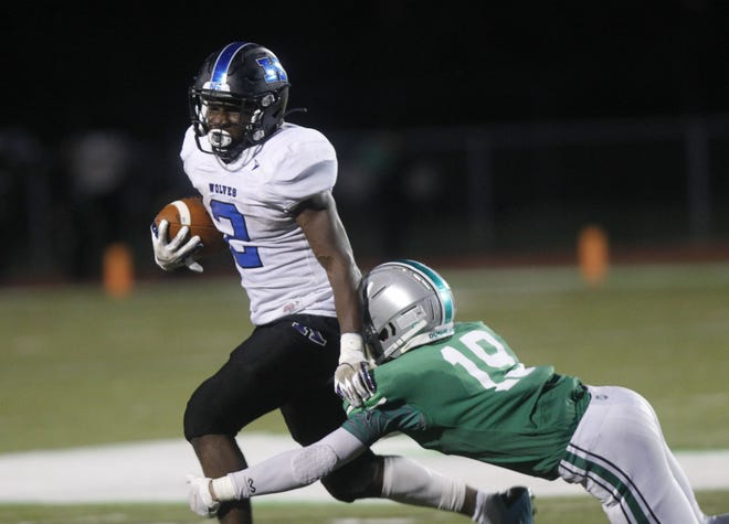 Junior J.J. Calip has emerged as the leading rusher for Kilbourne, with 753 yards and 11 touchdowns on 101 carries through seven games. Calip said he draws inspiration from his family, including an older brother who was killed in a shooting in 2018.