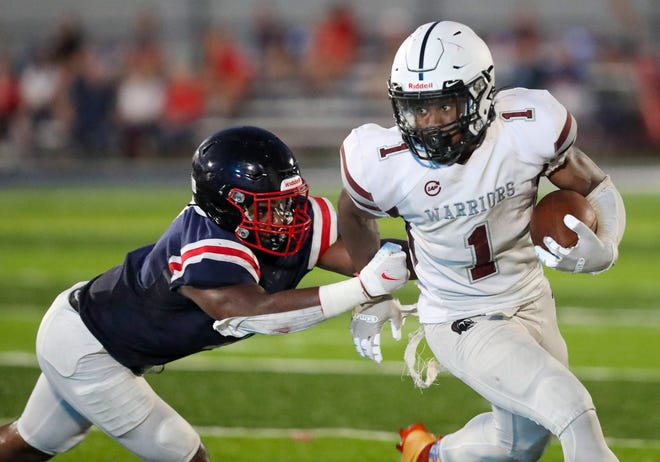 """Harvest Prep standout Jaylen Jennings has been battling an ankle injury this season, but the Warriors have played well in his absence. """"It's definitely good for me to catch my breath so I can be my best every play,"""" said Jennings, a Bowling Green commit."""