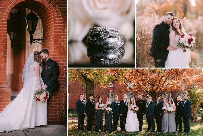 Sarah and Luke Blake celebrated their marriage on Nov. 7, 2020