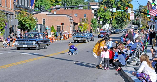 The Antique Festival Saturday Classic Car and Firemen's parade features classic cars and candy for the kids. It begins at 4:30 p.m. Saturday.