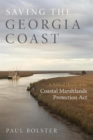 """Saving the Georgia Coast"" by Paul Bolster"