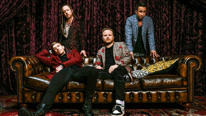 Hard rockers Shinedown got their start in Jacksonville. They play at the St. Augustine Amphitheatre on Friday.