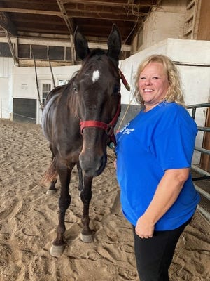 Megan Sundeen will be giving a public demonstration of Equine Assisted Therapy at Belezaire Horse Farm in Geneseo October 23.