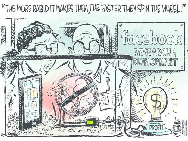 Today's editorial cartoon (Oct. 6 2021)
