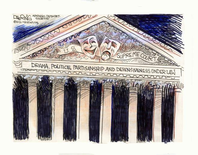 Today's editorial cartoon (Oct. 7 2021)