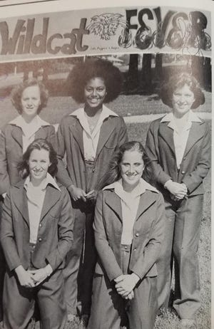 Pictured from left, front row, Sharon Baker, Lisa Webber and second row; Kathy Spisak, Kim O'Hara, and Julia Watson.