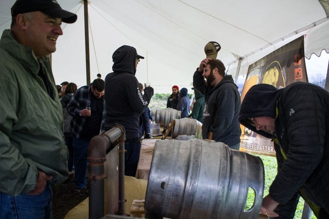The 6th annual New York State Cask Ale Festival will take place Saturday, Oct. 16, at Woodland Farm Brewery in Marcy.