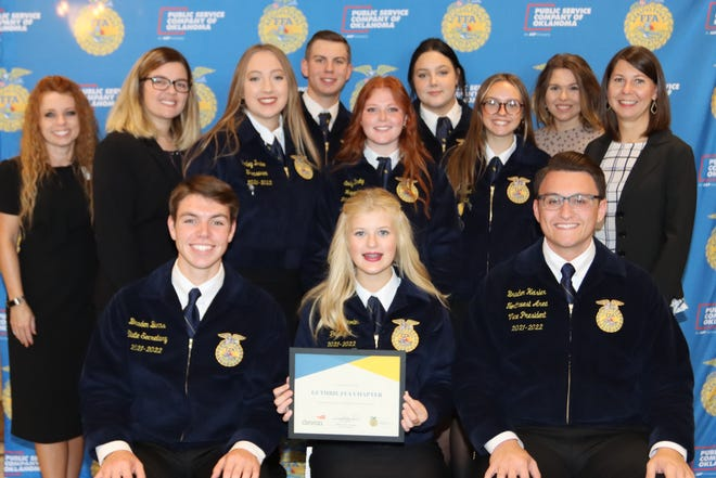 The Guthrie FFA Chapter has received a STEM grant from Devon Energy.