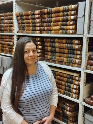 Veronica Redding, research assistant at the Oklahoma Historical Society Research Center, will provide a basic overview of how to use the Dawes Final Rolls for the Five Tribes during the Oct. 18 Edmond Genealogical Society meeting.