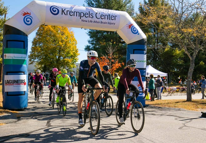 Ride founder and cycling legend Ted King and his wife Laura King led the pack at the 2019 King Challenge bike ride for brain injury. After going fully virtual in 2020 due to the pandemic, the fundraiser for Krempels Center will take place live on Saturday, Oct. 16 in Stratham, N.H.