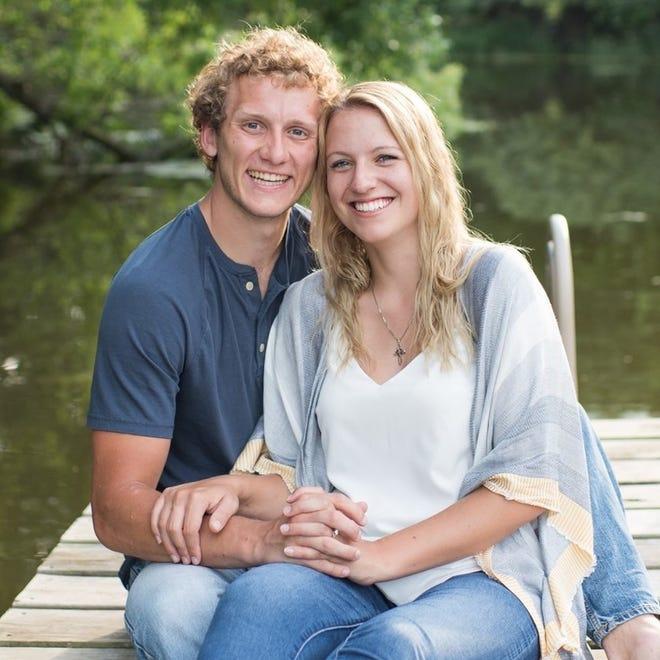 Andrew Van Hulzen was married last year.