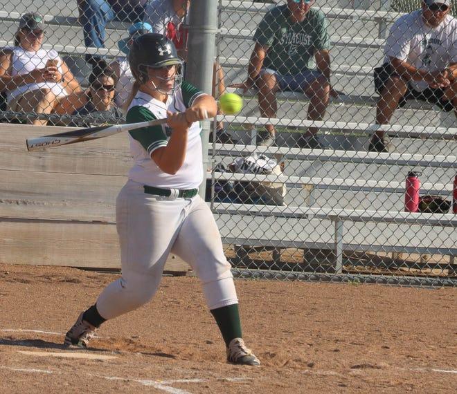 Kylie Anderson, S-D-A softball