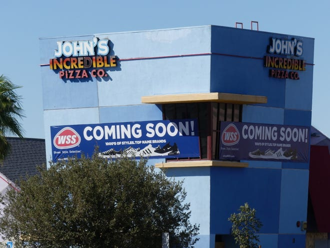 Athletic footwear and apparel retailer WSS is moving into the building once occupied by John's Incredible Pizza Co. on Bear Valley Road in Victorville.