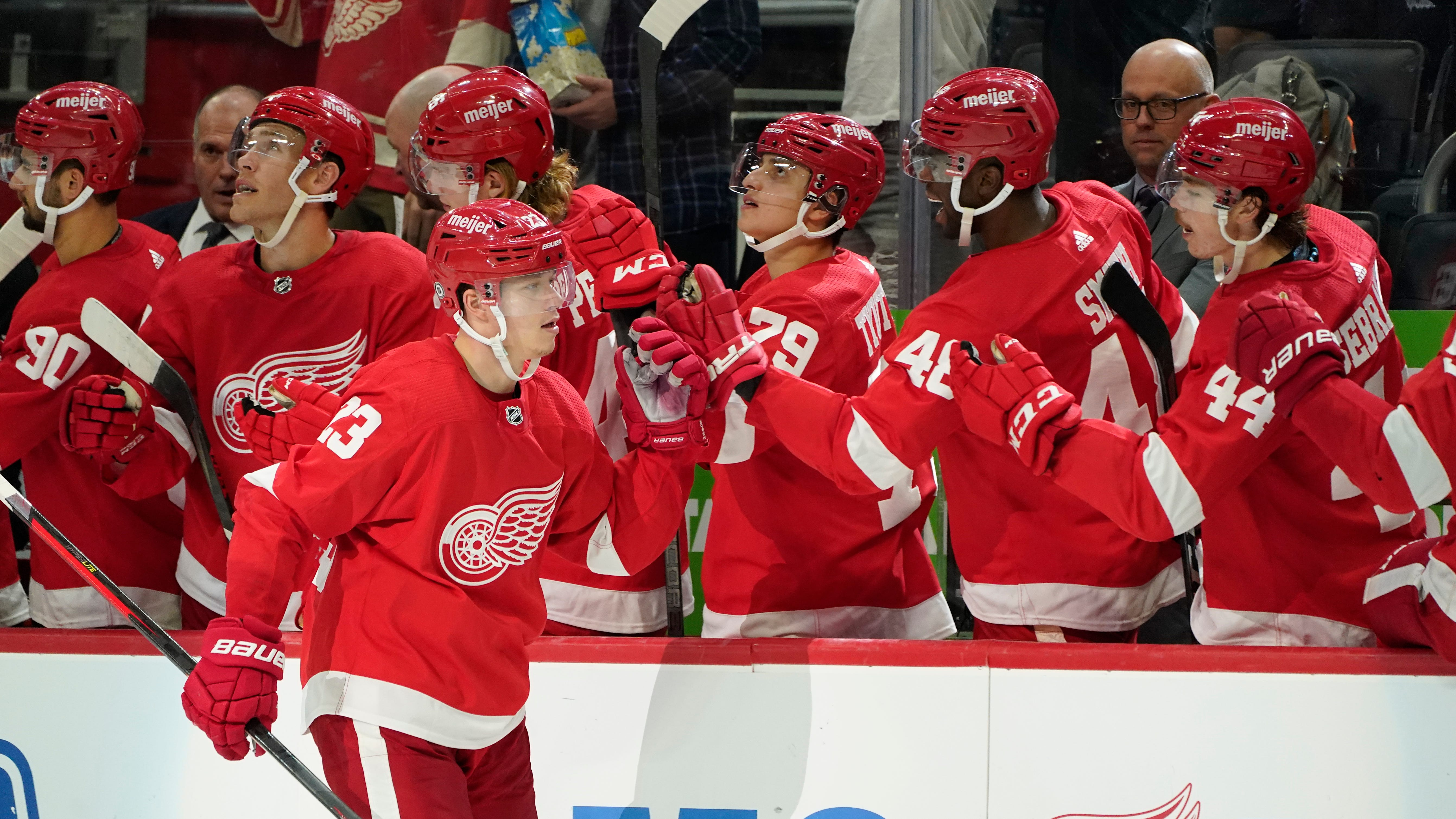 Lucas Raymond on Detroit Red Wings' 23-man roster: Here's who else made the cut