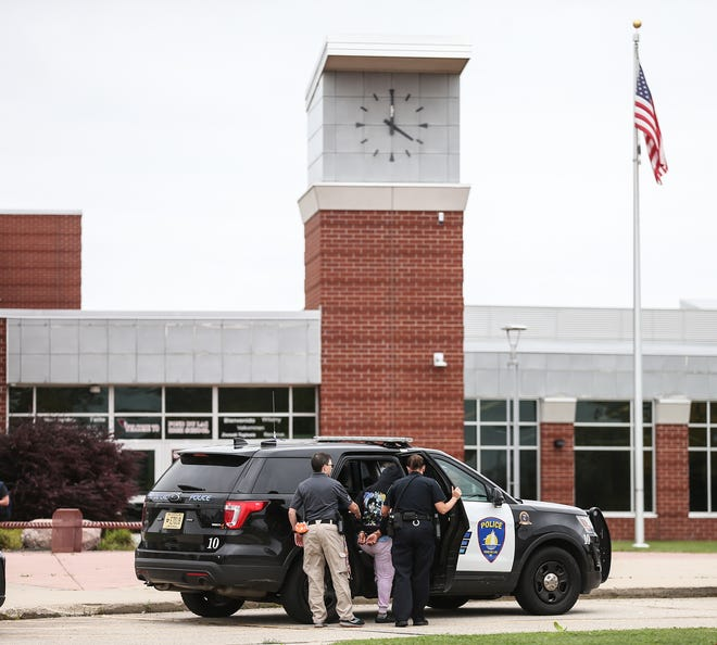 Fond du Lac Police took a student into custody earlier this month after multiple fights broke out at the high school over incidents that happened outside school, according to Principal Matt Steinbarth.