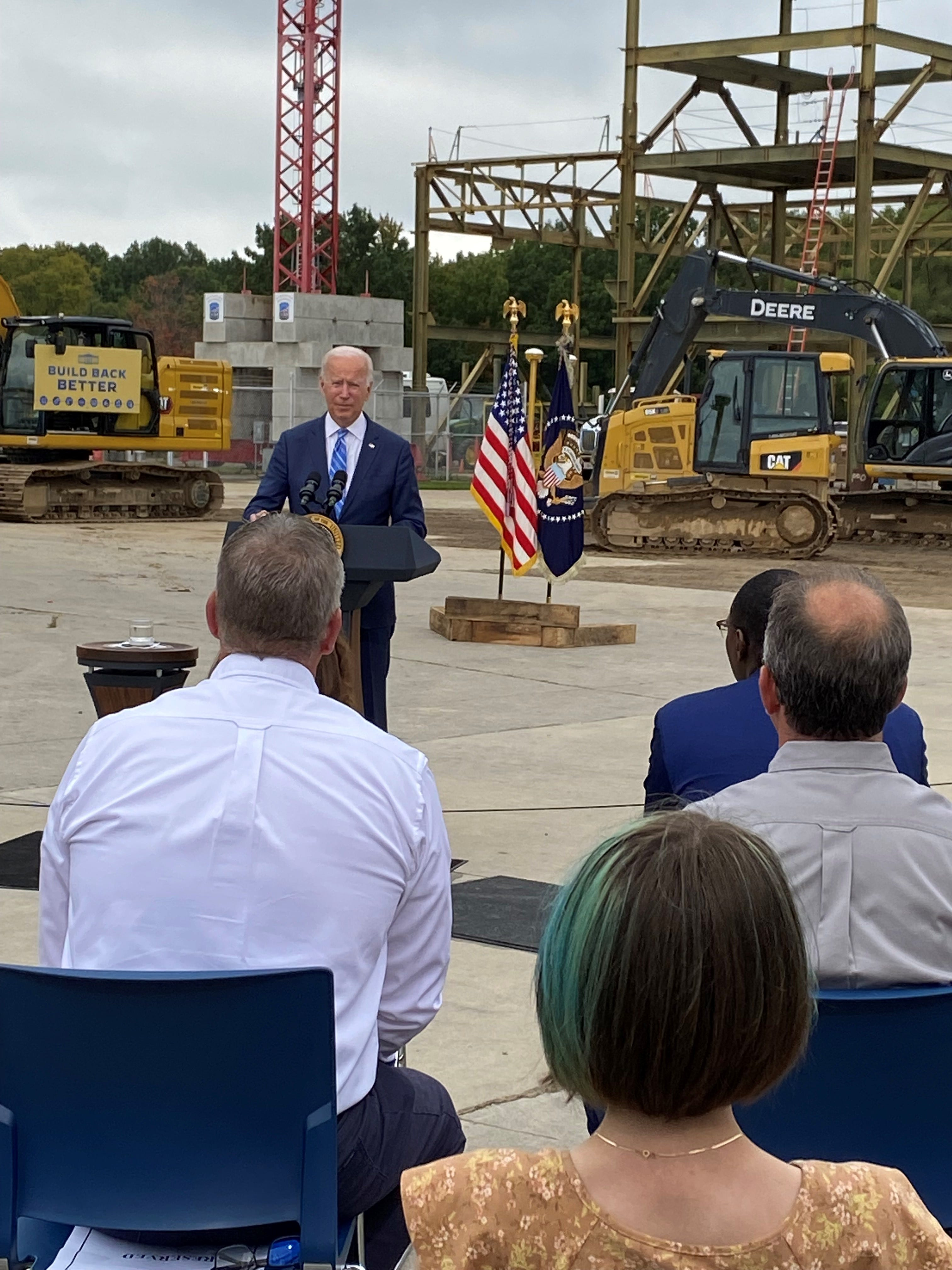 Biden in Michigan: U.S. is 'falling behind' without new infrastructure, human investments