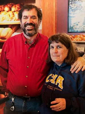 """Barb and Mike Pratzel closed Manna Cafe in Madison last year, but she turned the recipes into a cookbook,  """"Manna Cafe and Bakery Cookbook: A Memoir of Two Businesses, a Community, and the Food That Connected Them."""