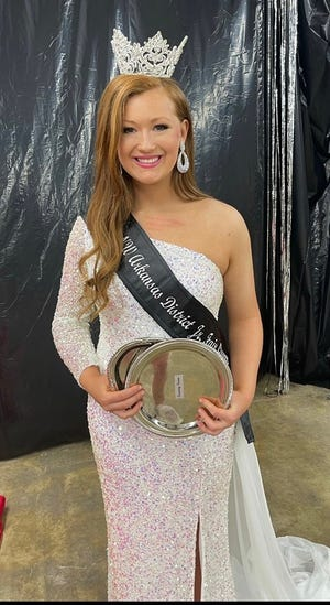 Haylee Silzell of Mountain Home was recently crowned Northwest Arkansas Junior Fair Queen at the district fair in Harrison.