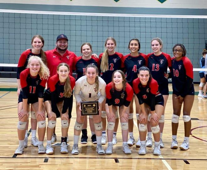 2021 Chandler Prep's girls volleyball team