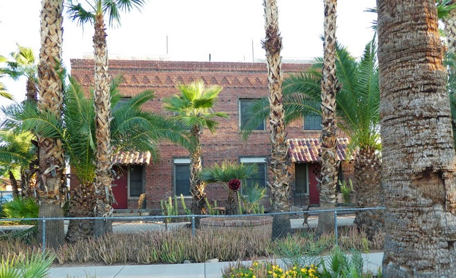 The Rose of Coronado apartments in Phoenix's Coronado Historic District was built by Rose and Walter Bachowetz.