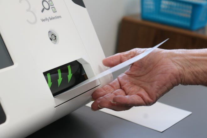 Early voting began Tuesday at polling locations throughout Ohio, including the Ottawa County Board of Elections at 8444 W. Ohio 163, where local residents have the option to stop in to cast their ballots early between 8 a.m. to 5 p.m.
