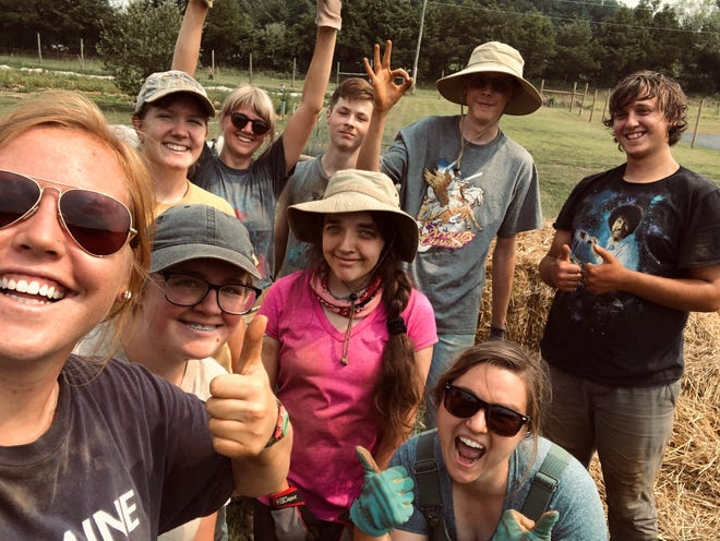Members of the Summer 2021 Project Grows Youth Leadership in Agriculture Program